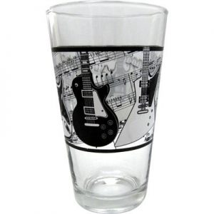 Glass Tumbler - Electric Guitars/Music.j