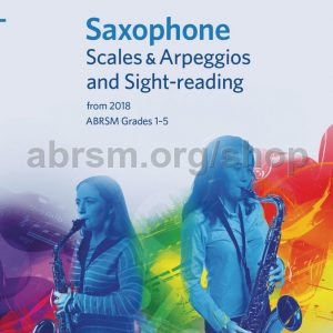 ABRSM SAXOPHONE SCALES ARPEGGIOS AND SIG
