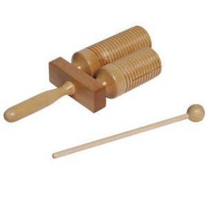 Wooden agogo bell with mallet.jpg